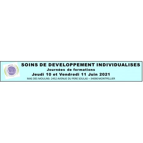 Soins de développement individualisés - SDI - du 6 au 7 Octobre 2016