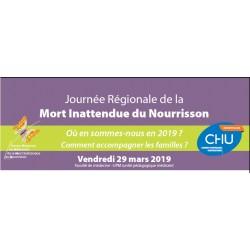Journée régionale de la Mort Inattendue du Nourrisson (MIN) - 29 mars 2019